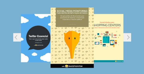 E-books disponíveis no site do Buzzmonitor.